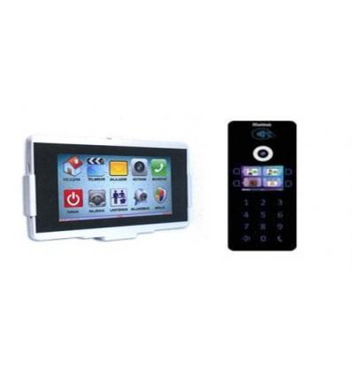 Multitek IP İnterkom Paket VIP70-STD/DIP40 1 Daire
