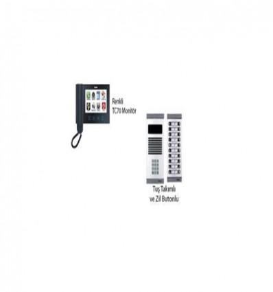 İnterkom Sistemleri APT160 TC70 + DYF05 Daire 1