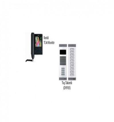 İnterkom APT160 TC40 +DYF05 Daire 1