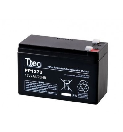 7.0 12v / Time Maintenance Free Battery